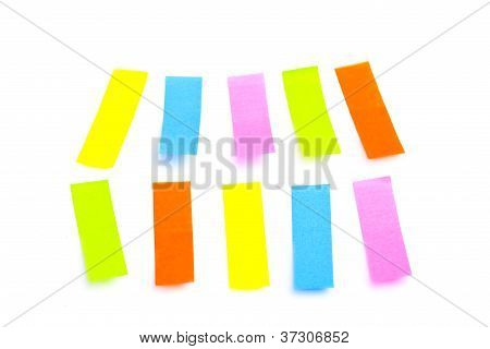 Colorful Sticker Tags