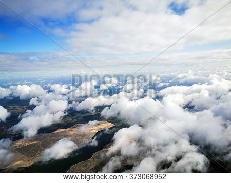 Clouds From The Aircraft