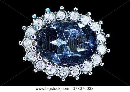 Detail Of Small Plastic Diamond As Nice Background