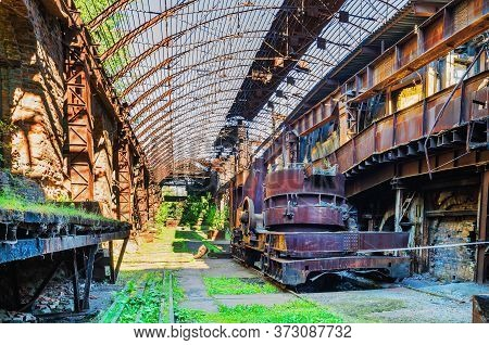 Abandoned Metallurgical Plant-museum