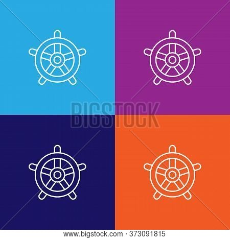 Travel Helm Outline Icon. Elements Of Travel Illustration Icon. Signs And Symbols Can Be Used For We