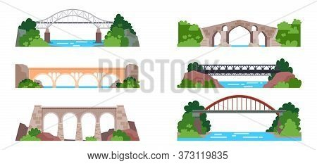 Bridge With Railway Or Arch With Highway