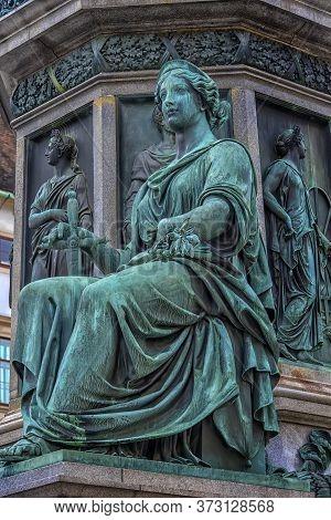 Austria, Vienna 30,12,2017 Monument To Emperor Franz Joseph I In Vienna
