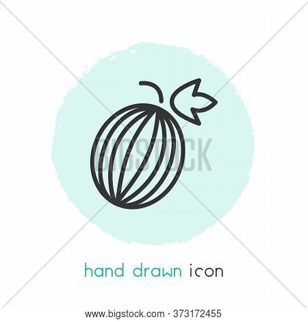 Gooseberry Icon Line Element. Illustration Of Gooseberry Icon Line Isolated On Clean Background For