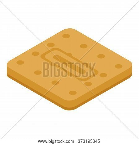 Confectioner Cookie Icon. Isometric Of Confectioner Cookie Vector Icon For Web Design Isolated On Wh