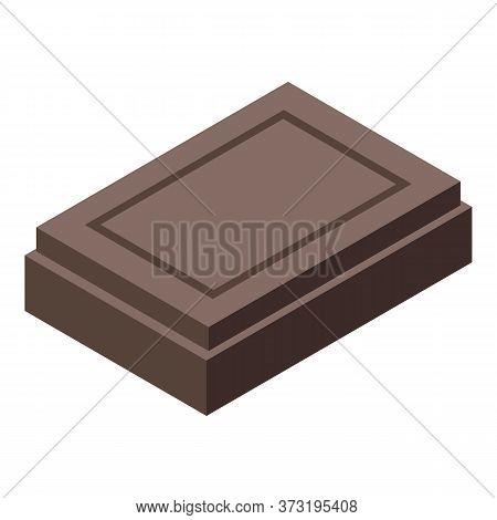 Confectioner Chocolate Icon. Isometric Of Confectioner Chocolate Vector Icon For Web Design Isolated