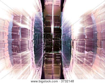 Alien Fantasy Unknown Futuristic Computer Generated Machine