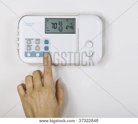 Adjusting Home Temperature