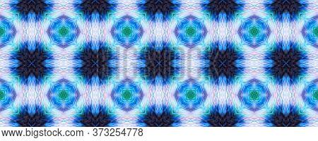 Original Tile Template.  Majolica Tiles Print. Ogee Geo Border. Dark Seamless Folk Embroidery. Winte