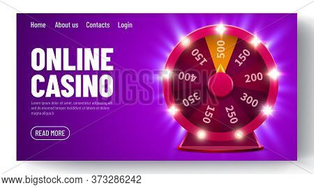 Wheel Of Luck Or Fortune. Gamble Chance Leisure. Colorful Gambling Wheel. Online Casino. Web Landing