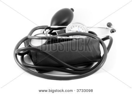Tonometer And Stethoscope