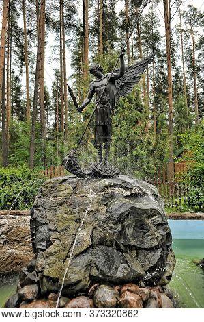 Russia, St. Petersburg 06,06,2015 Russia, St. Petersburg 06,06,2015 Temple Of The Konevskaya Icon Of