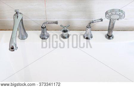 Shower Faucet Faucet Faucet In The Bathroom