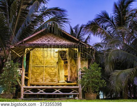 Bamboo Bungalow In The South Of Thailand
