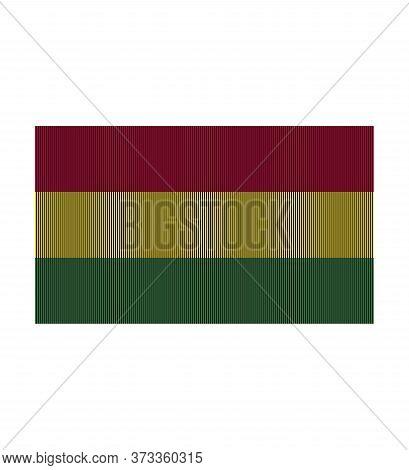Flag Of Bolivia. Thenational Flag Of Bolivia