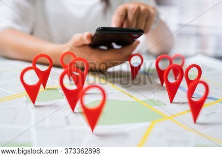 Local Map Pin Marker Search In  City