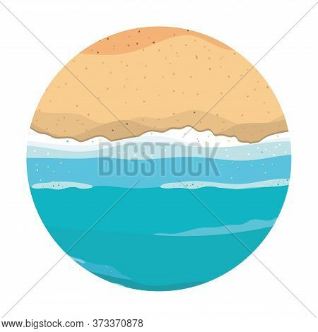 Beach And Sea Design, Summer Vacation Tropical Relaxation Outdoor Nature Tourism Relax Lifestyle And