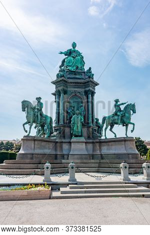 Empress Maria Theresia Monument On Maria-theresien-platz Square, Vienna, Austria