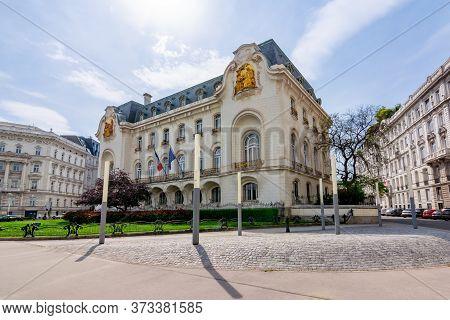 Vienna, Austria - May 2019: Embassy Of France In Vienna