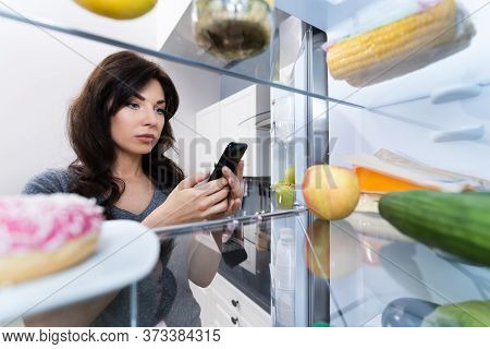 Grocery Shopping List Convenient Mobile Phone App