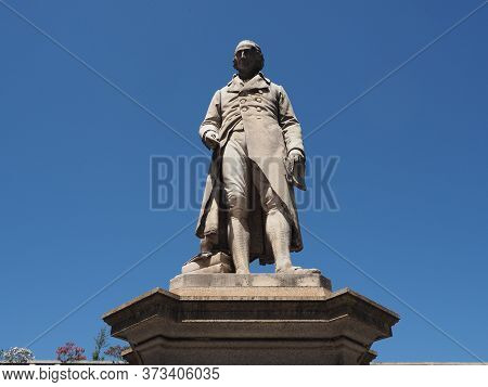 Lagrange Statue In Turin