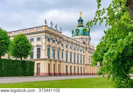 Charlottenburg Palace And Gardens In Spring, Berlin, Germany