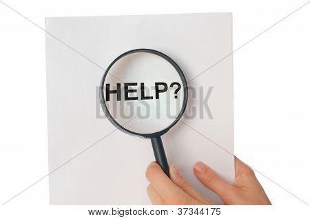 Do you need help?