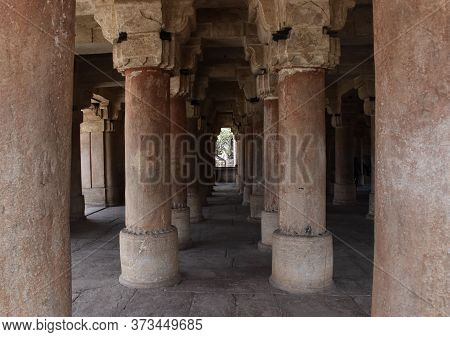 Gwalior, Madhya Pradesh/india : March 15, 2020 - Assi Khamba Ki Baori In Gwalior Fort