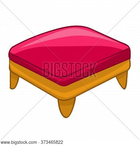 Chair Isolated Illustration On White Background. Vector
