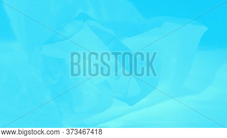Delicate Blue Aquamarine Gradient Abstract Background, 16:9 Panoramic Format