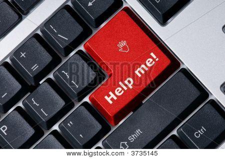 Tastatur mit-red-Key, helfen Sie mir