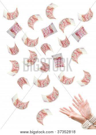 Schulden Insolvenz Konzept