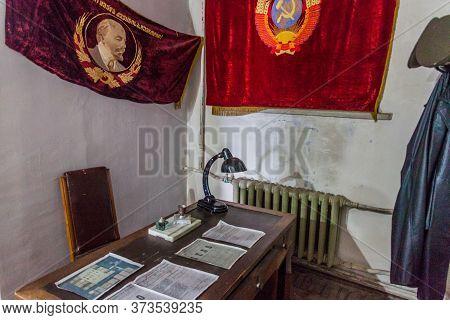 Gori, Georgia - July 15, 2017: Interior Of Stalin Museum In Gori Town, Georgia.