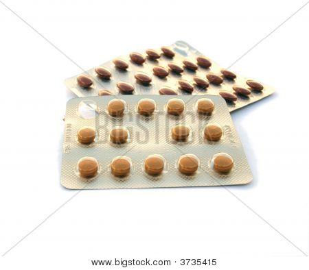 Pills In Foil Packs