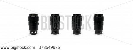 Bangkok, Thailand - 14 Jun 2019, Sony Fe 90mm F2.8 Macro G Oss Lens Is Macro Prime Lens For Sony Ful