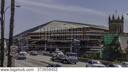 Adelaide, Australia - March 11th, 2020: The Adelaide, Australia, Convention Center On A Sunny Summer