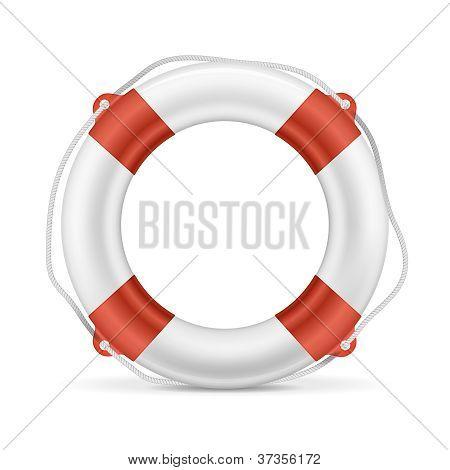 White Lifebuoy