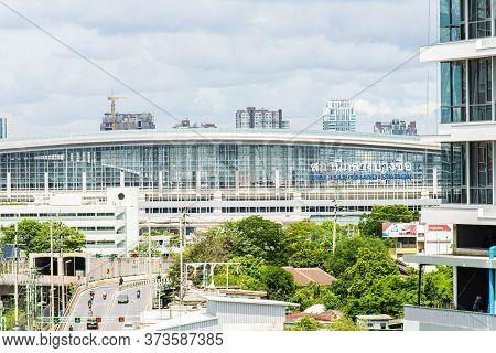 Bangkok,thailand - June 9 2020 : Vicinity Of Bang Sue Grand Station,new Mass Hub Public Railway Tran