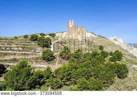 Old Parish Of Santa Fe Caparroso, Navarra, Spain