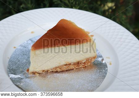 Serving Cheese Cake, Cheese Pie For Serve