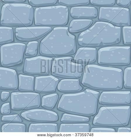 Seamless pattern of masonry. Stone wall
