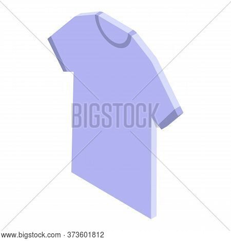 Shop Assistant Tshirt Icon. Isometric Of Shop Assistant Tshirt Vector Icon For Web Design Isolated O