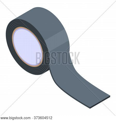 Black Scotch Icon. Isometric Of Black Scotch Vector Icon For Web Design Isolated On White Background