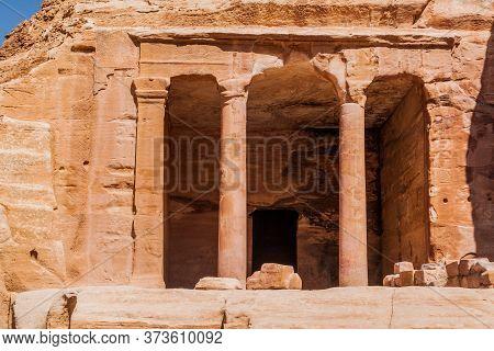 The Garden Temple In The Ancient City Petra, Jordan