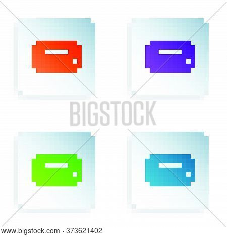 Color Math System Of Equation Solution Icon Isolated On White Background. E Equals Mc Squared Equati