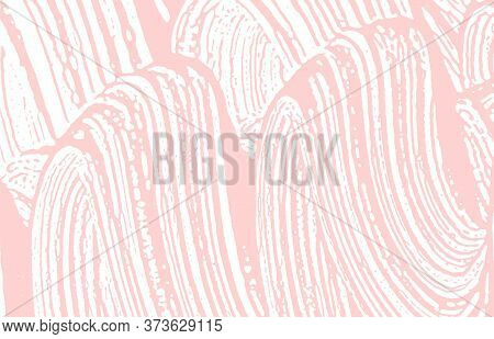 Grunge Texture. Distress Pink Rough Trace. Fantastic Background. Noise Dirty Grunge Texture. Actual