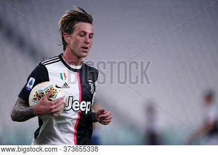 Torino (italy) 26th June 2020. Italian Serie A. Juventus Fc Vs Us Lecce.  Federico Bernardeschi  Of