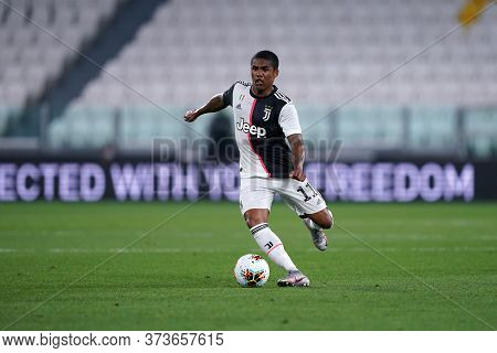 Torino (italy) 26th June 2020. Italian Serie A. Juventus Fc Vs Us Lecce.  Douglas Costa  Of Juventus