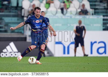 Torino (italy) 26th June 2020. Italian Serie A. Juventus Fc Vs Us Lecce. Nehuen Paz Of Us Lecce