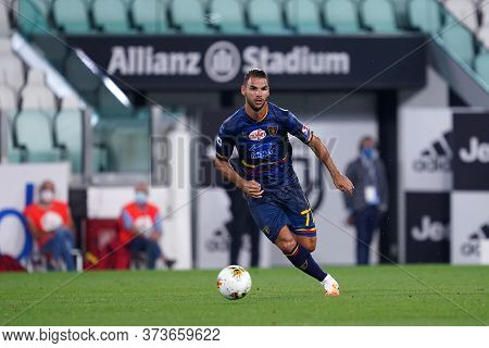 Torino (italy) 26th June 2020. Italian Serie A. Juventus Fc Vs Us Lecce. Panagiotis Tachtsidis Of Us